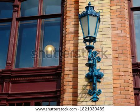 Classic street lamp in Budapest Stock photo © jakatics