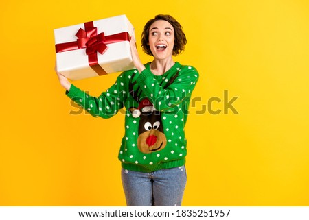 woman in a jumper Stock photo © jayfish
