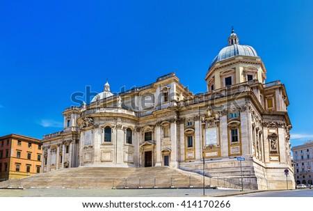 Basilica of Santa Maria Stock photo © smuki