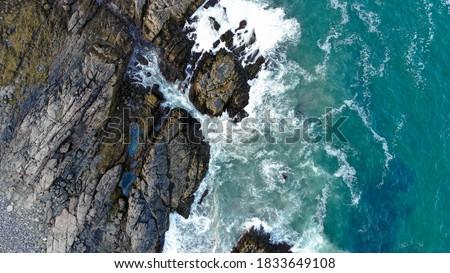 побережье · Тенерифе · черный · вулканический · камней · Канарские · острова - Сток-фото © fanfo