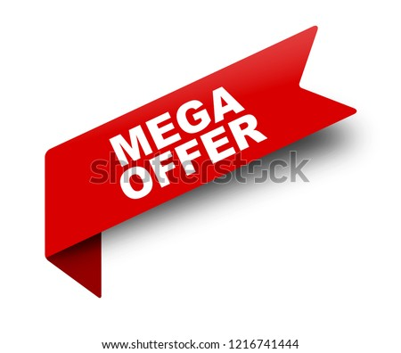 discount deal red vector icon button stock photo © rizwanali3d