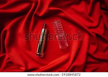 Güzel elbise kozmetik beyaz saten kadın Stok fotoğraf © alekleks