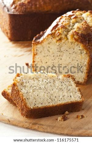 Loaf with poppyseed Stock photo © dmitroza