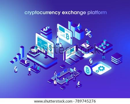 Vektor · Austausch · Technologie · Geld - stock foto © netkov1