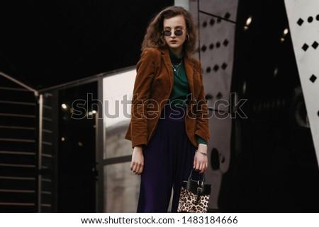 зеленый одежду очки окна набор девушки Сток-фото © toyotoyo