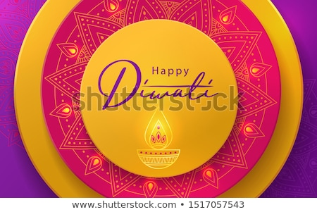 happy diwali festival sale background in creative style stock photo © sarts