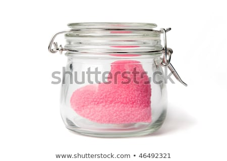 heart closed in the jar for organ donation Stock photo © adrenalina