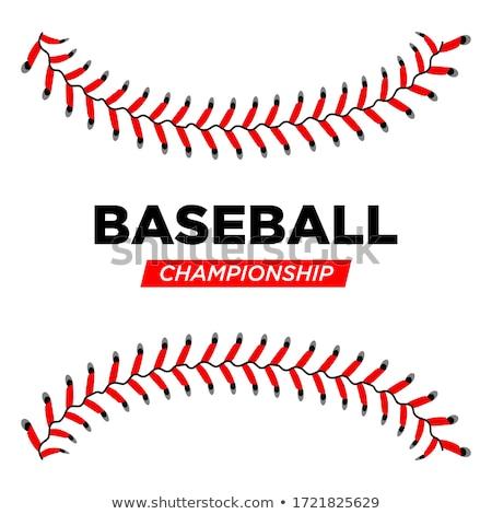 Baseball mistrzostwo ilustracja sportu kubek wyścigu Zdjęcia stock © adrenalina