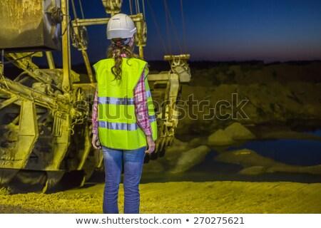 back hoe standing in mining stock photo © stoonn