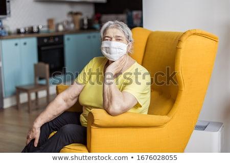 старший · женщину · случайный · одежды · модный - Сток-фото © kurhan