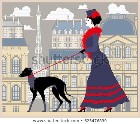 Foto stock: Victorian Dog