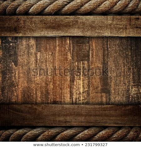старые грубо веревку Сток-фото © premiere
