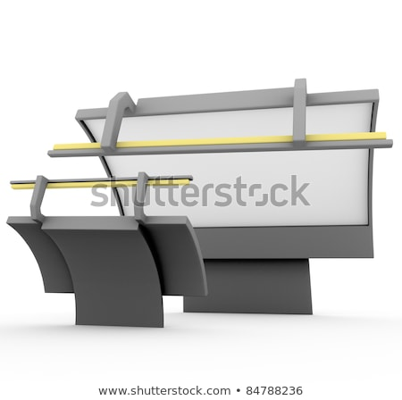 3d render on aggressive marketing competitive rivalry billboard Stock photo © Melvin07