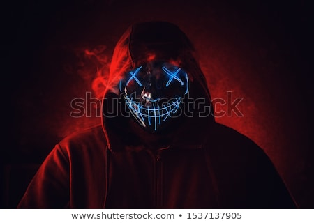 angry man in hood stock photo © paha_l