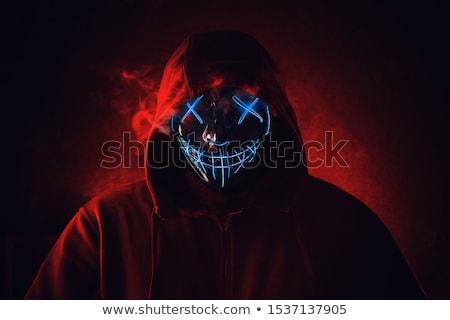 angry man in hood Stock photo © Paha_L