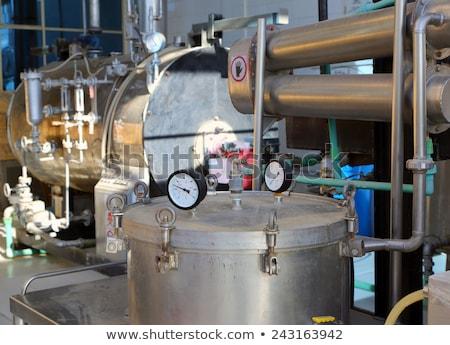 Oli essenziali fabbrica industria lavoro impianto oliva Foto d'archivio © Mikko