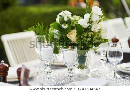 Wedding Dining Table Stock photo © Alvinge