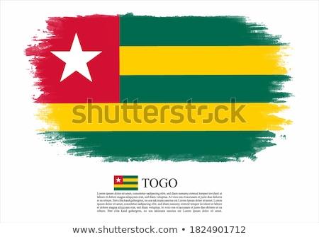 Гранж флаг Того старые Vintage гранж текстур Сток-фото © HypnoCreative