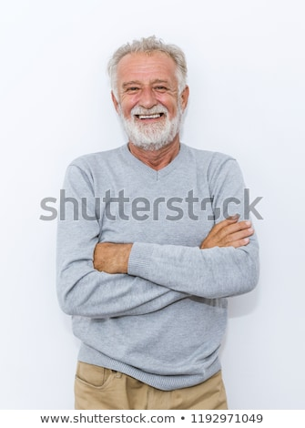 Old man on holiday Stock photo © photography33
