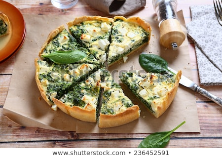spinach pie Stock photo © smithore