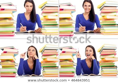 монтаж женщины студентов экзамены бизнеса Сток-фото © photography33