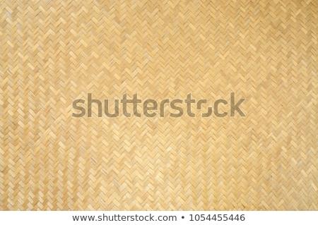 thai style bamboo handcraft stock photo © stoonn