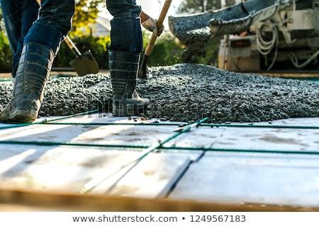 ev · yeni · tel · hazır · beton - stok fotoğraf © photography33