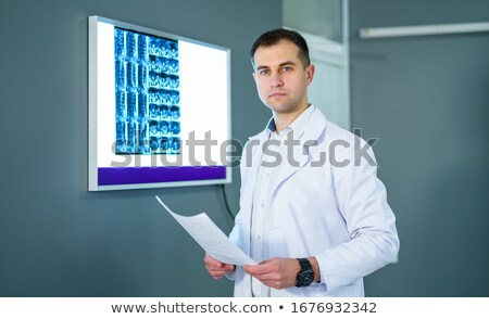 snapshots of male and female laboratory technicians Stock photo © photography33