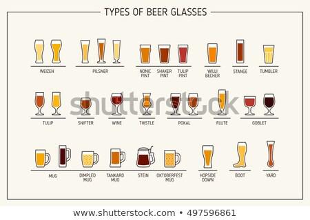 Stock fotó: Beer Glasses And Mugs