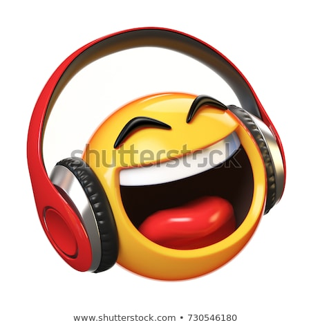 Emoticon DJ Stock photo © carbouval