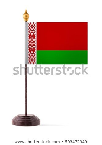 Miniature Flag of Belarus (Isolated) Stock photo © bosphorus