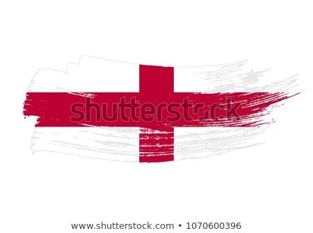 Stockfoto: Engeland · grunge · vlag · textuur · retro · digitale