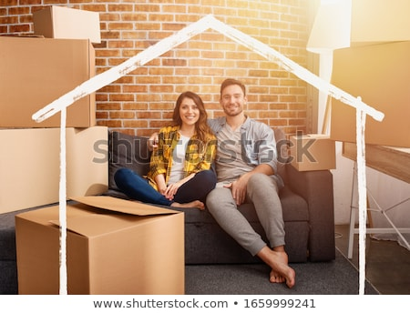 Couple have found a new home Stock photo © photography33