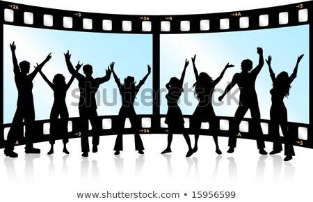 Filmstrip jeugd Stockfoto © Kjpargeter