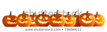 halloween pumpkin with frame stock photo © wad