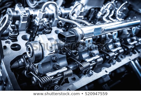 Muscle Car Engine Stock photo © Gordo25