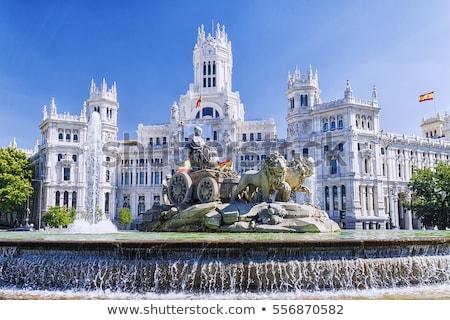 Madrid Espagne résidentiel maisons bâtiment ville Photo stock © dinozzaver