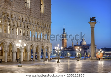 Palazza Ducale and Basilica of Saint Mark, Venice Stock photo © aladin66