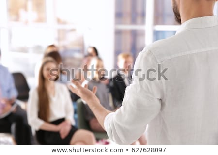 Expert. Business Background. Stock photo © tashatuvango