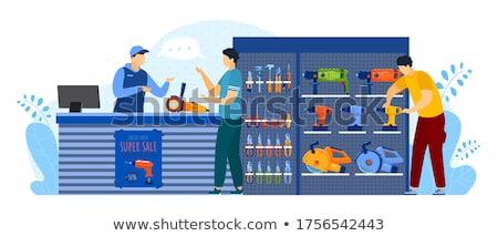 serviços · negócio · ícones · vetor · caminhão - foto stock © anatolym