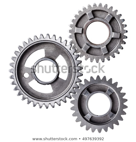 worn cog wheels stock photo © marekusz