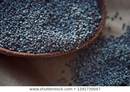 macro shot of poppy seeds Stock photo © jirkaejc