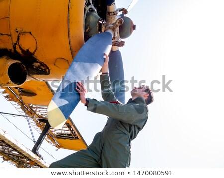 vintage war plane stock photo © witthaya