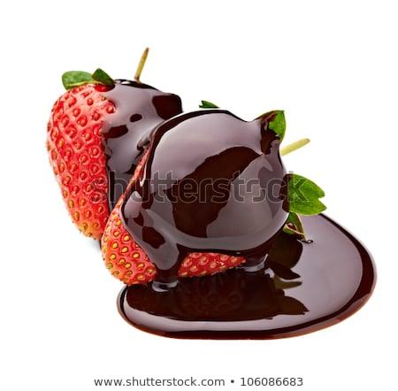 Valentine Chocolates with Clipping Path Stock photo © songbird