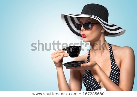 Good teatime manners. Stock photo © Fisher