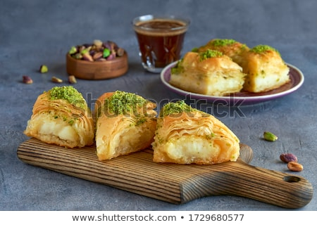 Arabic sweets. stock photo © karammiri