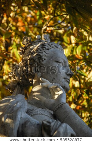 Statue of Marguerite d'Angouleme in Paris Stock photo © chrisdorney