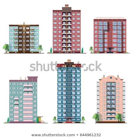different high-rise homes Stock photo © mayboro1964