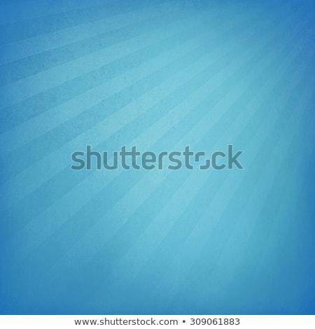 vintage blue sunburst poster stock photo © adamson