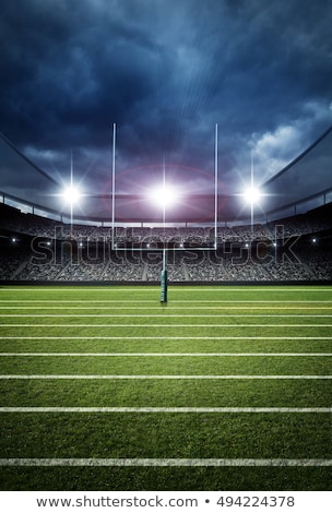 American Football Goal Stock photo © Lightsource